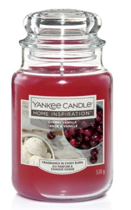 Cheap Yankee Candle Cherry Vanilla Large Jar, reduced by £3.5!