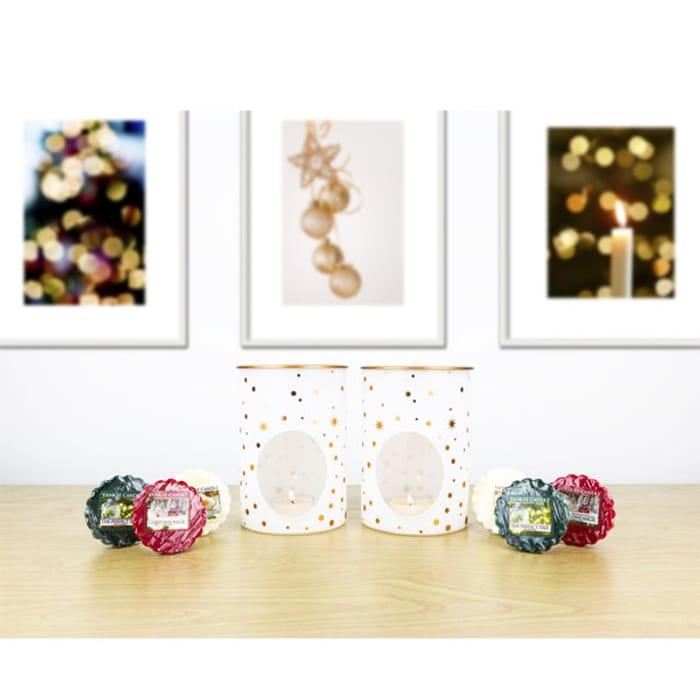 Pair of Magical Melt Warmers + 6 Festive Tarts