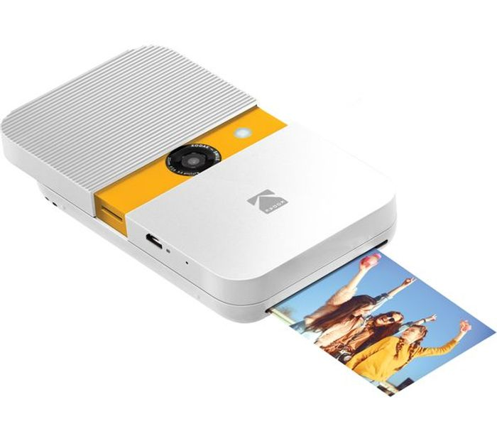 *SAVE £30* KODAK Smile Digital Instant Camera - White & Yellow