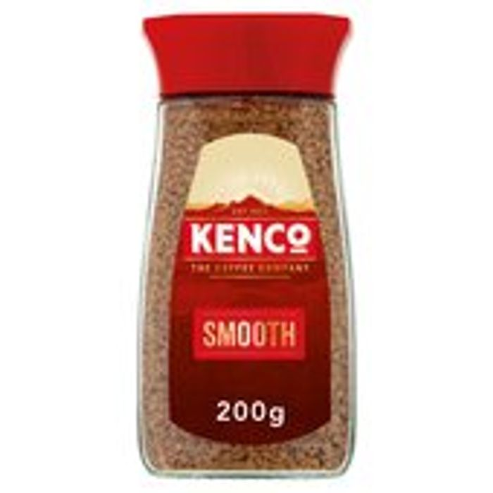Kenco Smooth Instant Coffee 200g (Offer Also Includes 'Rich' & 'Decaff')