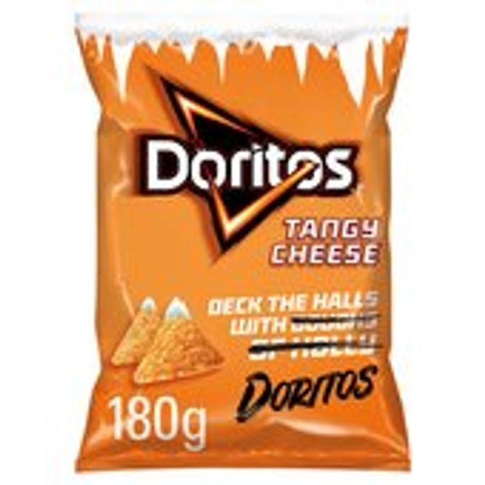 Doritos Tangy Cheese Tortilla Chips 180g (Other Flavours Included in This Offer)