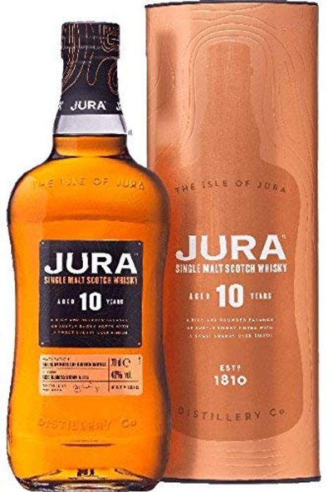£15 OFF! Jura 10 Year Old Single Malt Whisky, 70cl. *4.6 STARS*