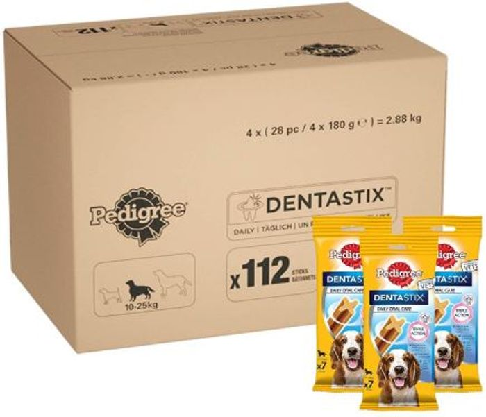 Cheap Pedigree Dentastix - Daily Dental Care Chews, Only £14.23!