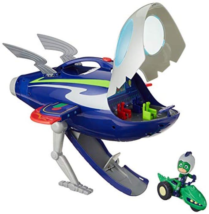 1/2 PRICE! PJ Masks Super Moon Adventure HQ Rocket