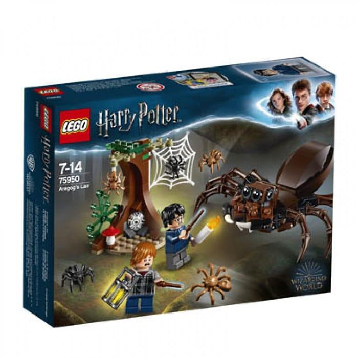 HARD TO FIND! LEGO Harry Potter - Aragog's Lair: 75950