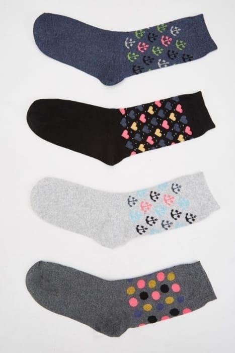 Pack of 12 Novelty Print Socks £5.00
