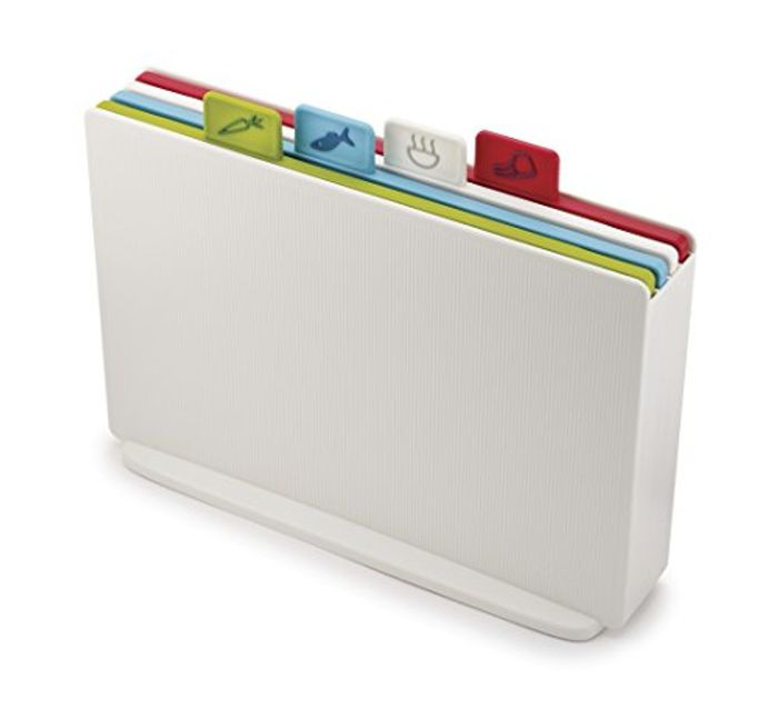 Joseph Joseph Index Chopping Board Set - White, Set of 4