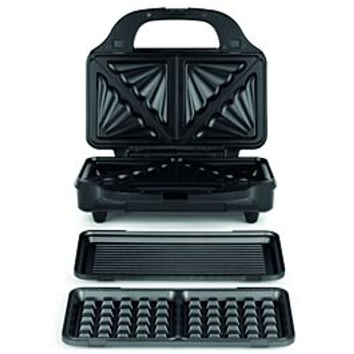 Salter 3-in-1 Deep Fill Sandwich and Waffle Maker £16.99 with Code