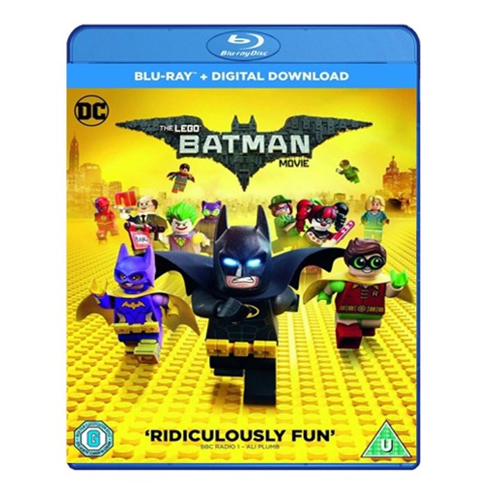 Cheap The Lego Movie Blu Ray at Monster-shop Only £2.99!