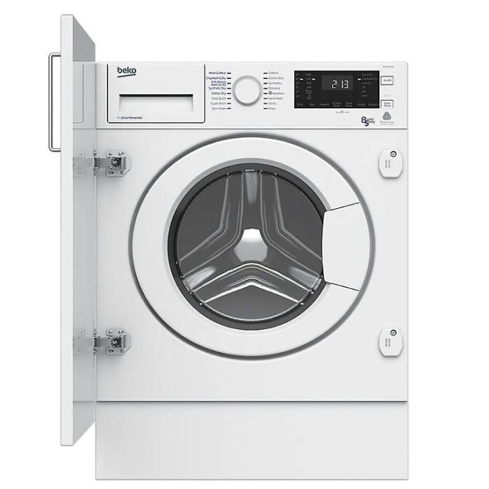 Beko White Built-in Washer Dryer