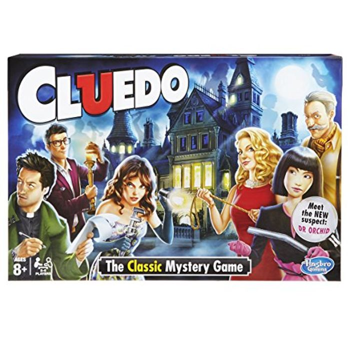 CLUEDO Board Game - Almost Half Price at Amazon! (Age 8+)