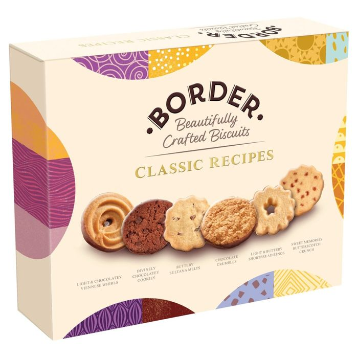 Border Beautifully Crafted Biscuits Classic Recipes