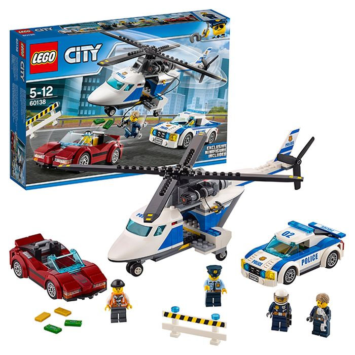 LEGO City High-Speed Chase Police Set 60138