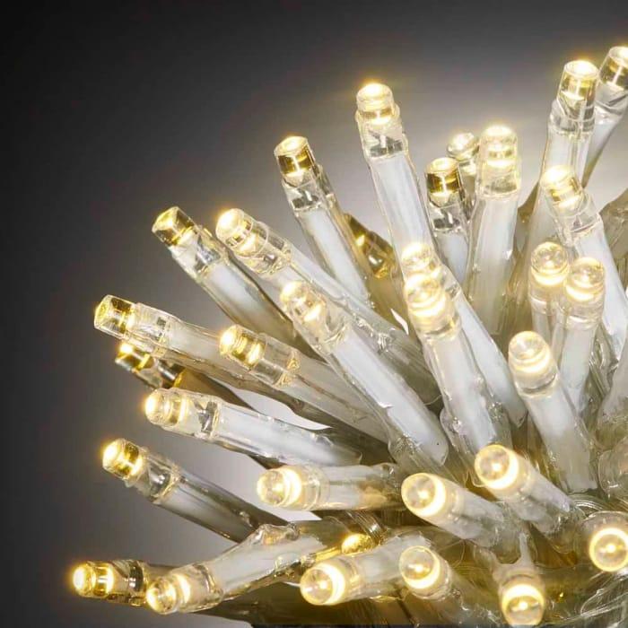 Wilko 600 Multifunction Warm White LED Christmas Lights