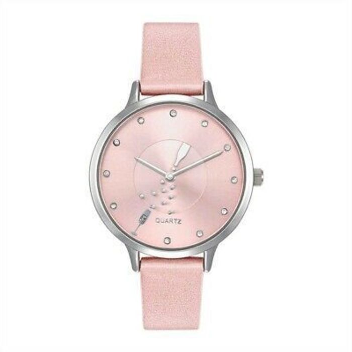 Prosecco Pop Watch with Pink Strap Only 2 for £5 at ClearanceXL