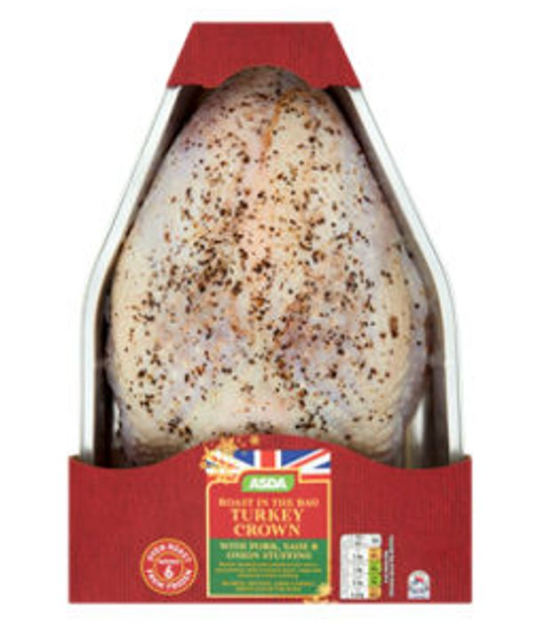 ASDA Roast in the Bag Turkey Crown with Pork Sage & Onion Stuffing