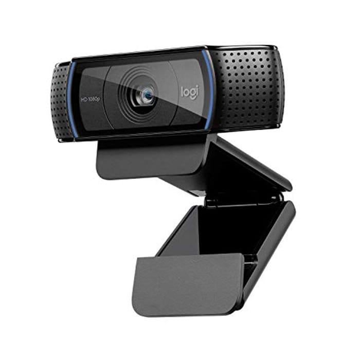 Logitech C920 HD Pro Webcam for Amazon, Full HD 1080p/30fps