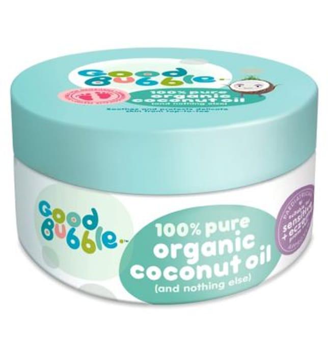 Best Price! Good Bubble 100% Pure Organic Coconut Oil 185g