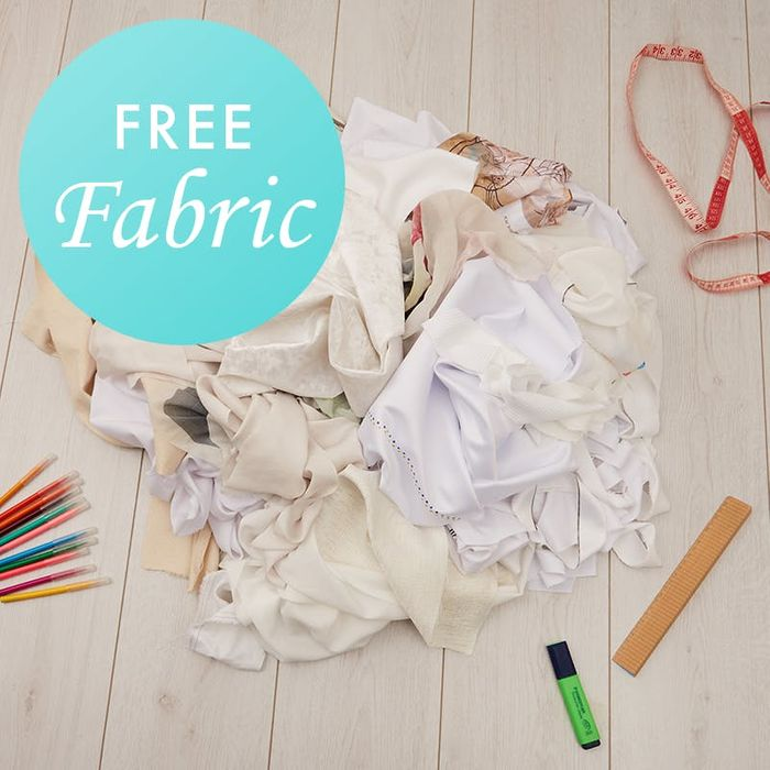 Free Fabric Remnants: Up to 4.5kg Pure Joy for Your DIY Project