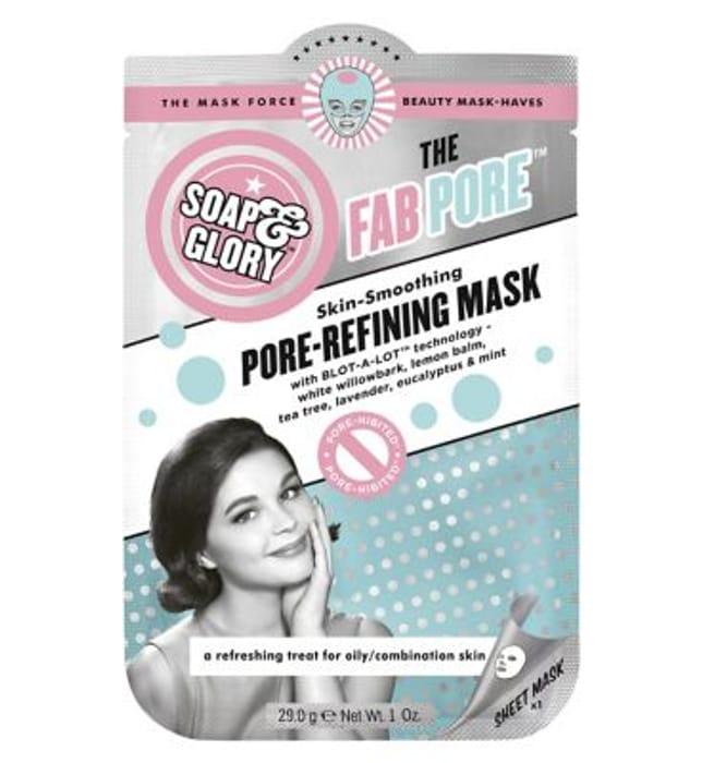 Soap & Glory the Fab Pore Pore-Refining Sheet Mask