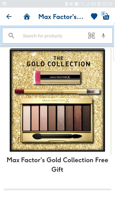 Special Offer - Free Gift When You Spend £15 on Selected Max Factor Cosmetics