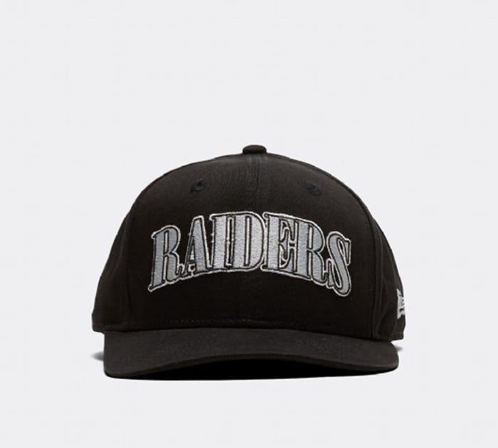 New Era 9FIFTY Curved Visor Raiders Cap