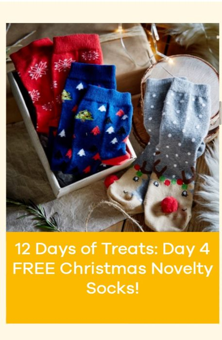 Free Christmas Socks