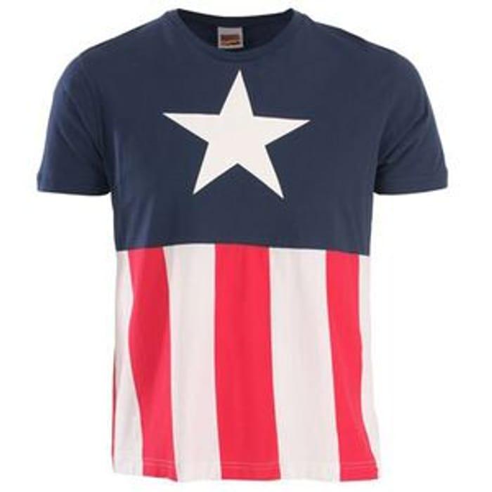 Captain America Uniform T-Shirt