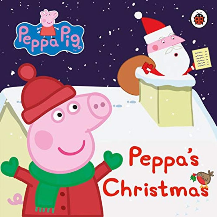 Peppa Pig: Peppa's Christmas Board Book