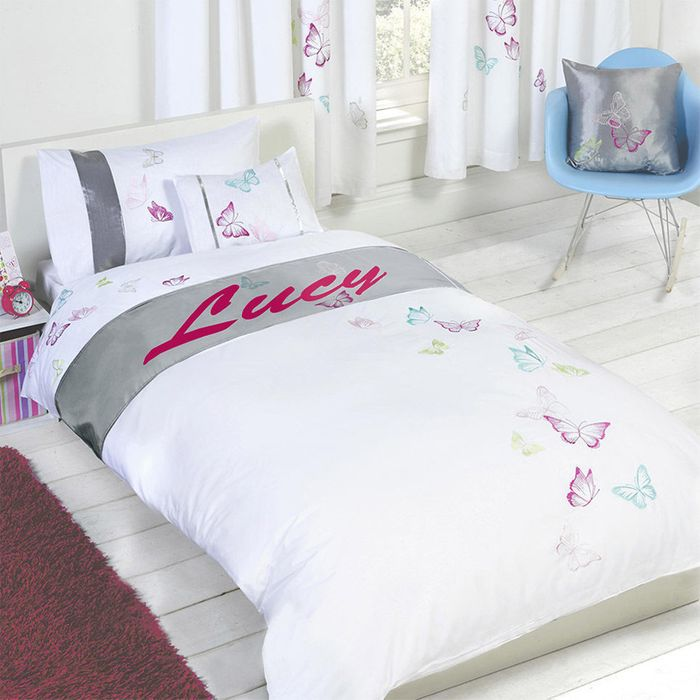 Personalised Butterfly Duvet Cover Set