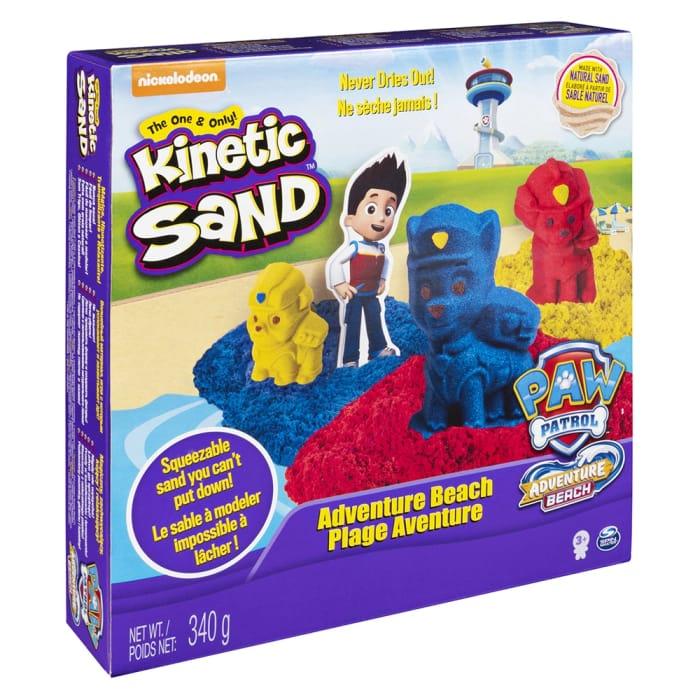 Kinetic Sand: Paw Patrol Adventure Beach
