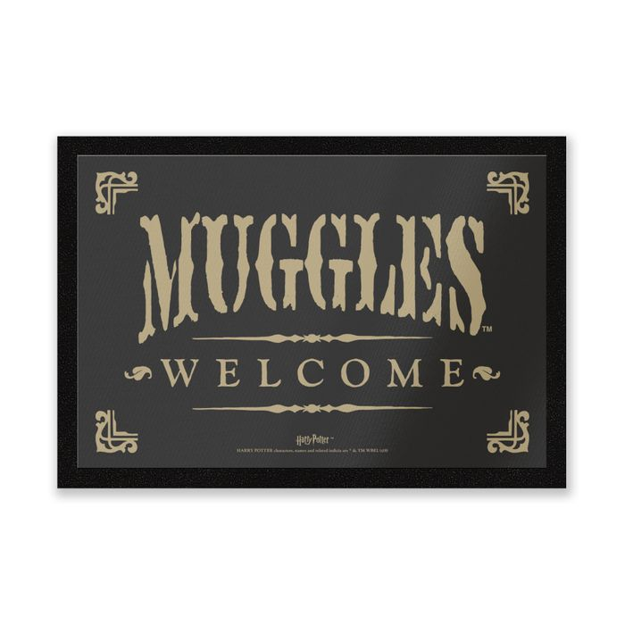 Harry Potter Muggles Welcome Entrance Mat - HALF PRICE with Code!