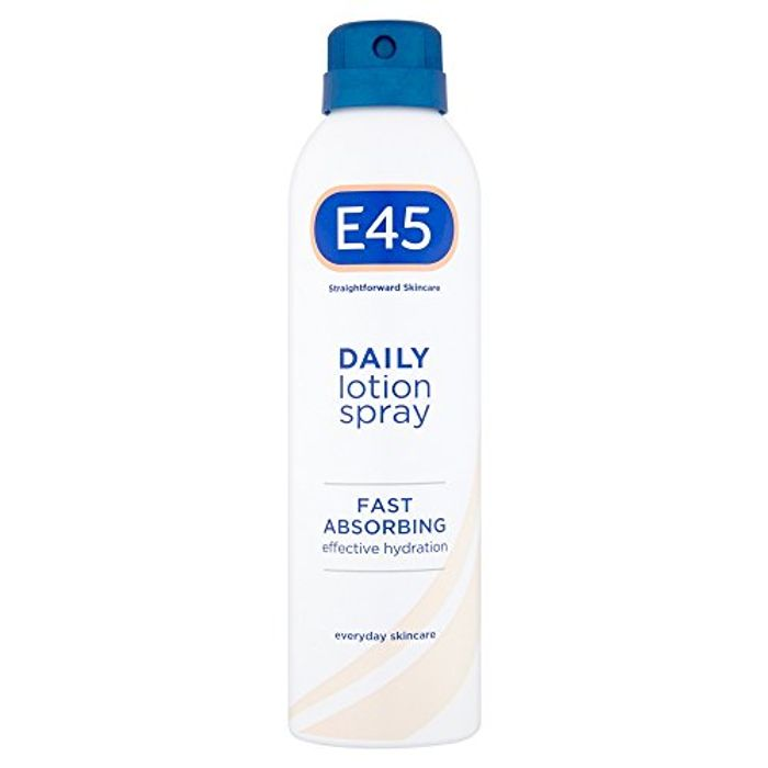 E45 Daily Lotion Spray, 200 Ml HALF PRICE