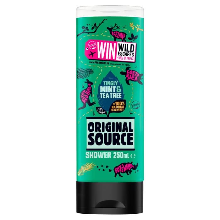 Original Source Mint Shower Gel 250Ml - HALF PRICE!