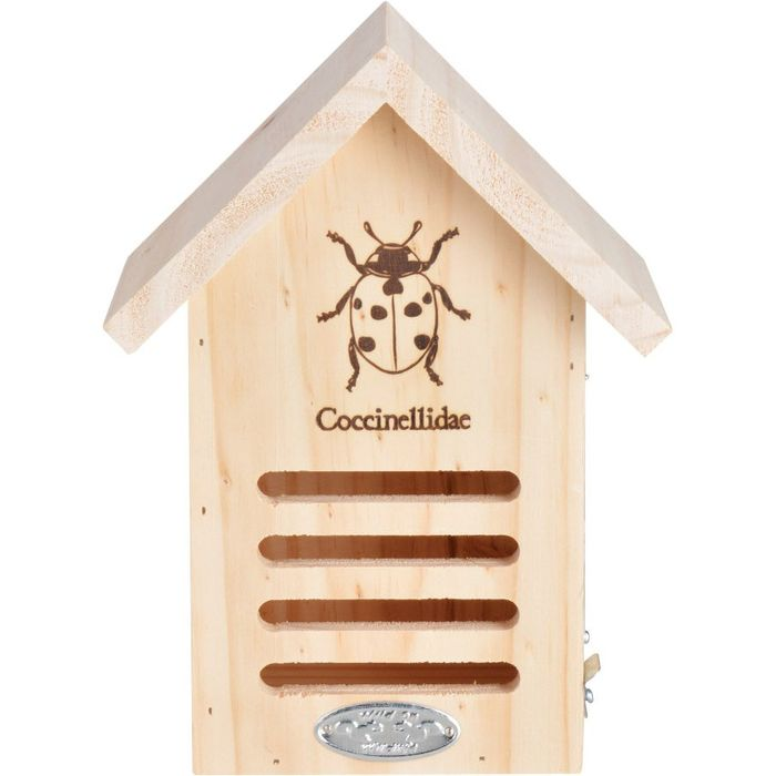 Wooden Ladybird House
