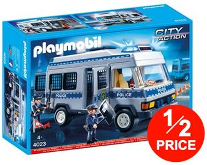 1/2 PRICE at TESCO! Playmobil Police Van
