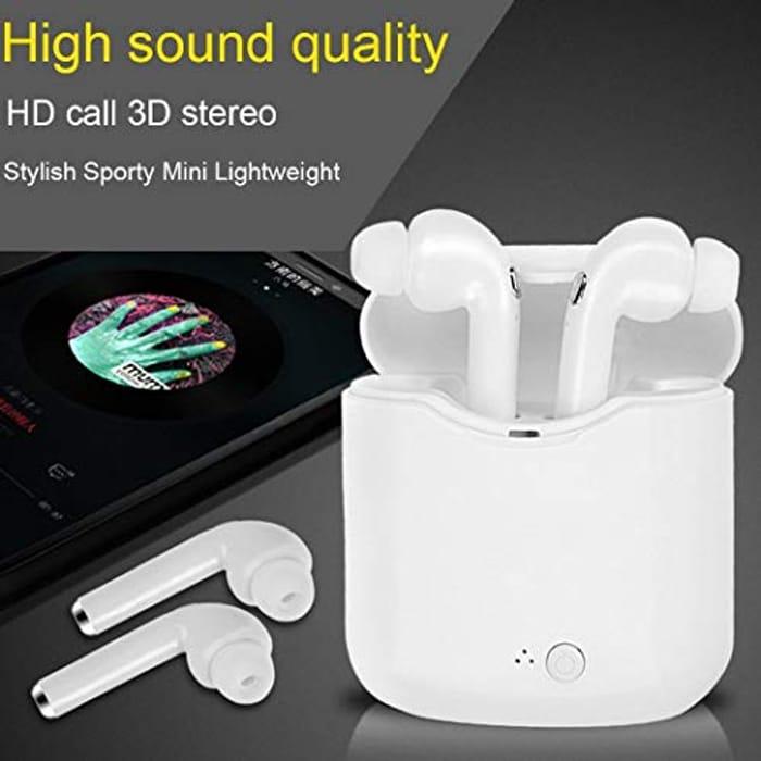 Wireless Bluetooth Earphones with Discount Code