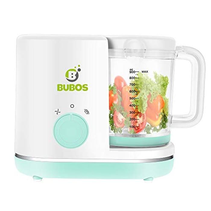 5-in-1 Smart Baby Food Maker Steam Blender, Chopper, Warmer Pureeing Reheat