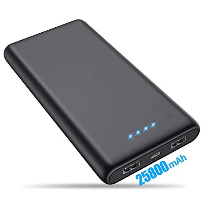 25800mAh Portable Charger - 40% Off!