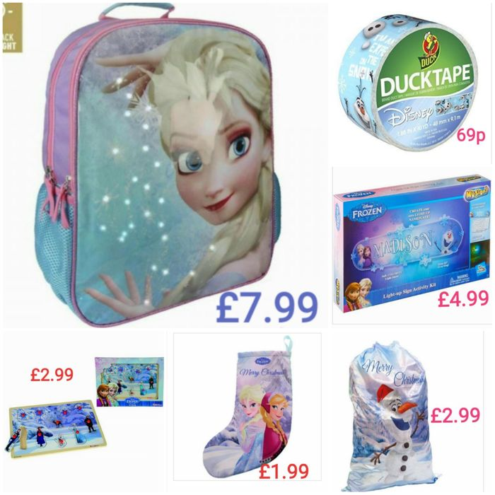Frozen Items from 69p - £7.99