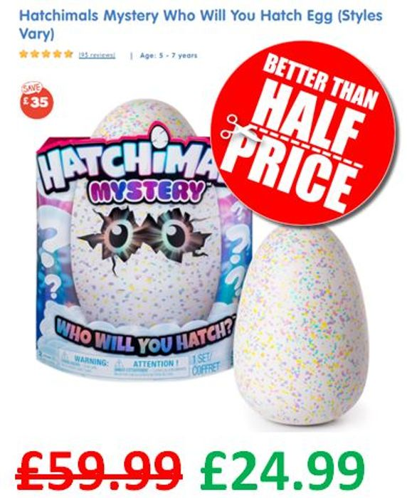 SUPER DEAL! HATCHIMALS MYSTERY - Who Will You Hatch? Egg