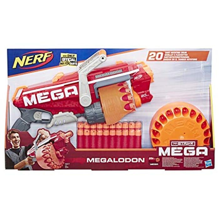 NERF E4217EU4 NER MEGA Megalodon - Save £15.50!
