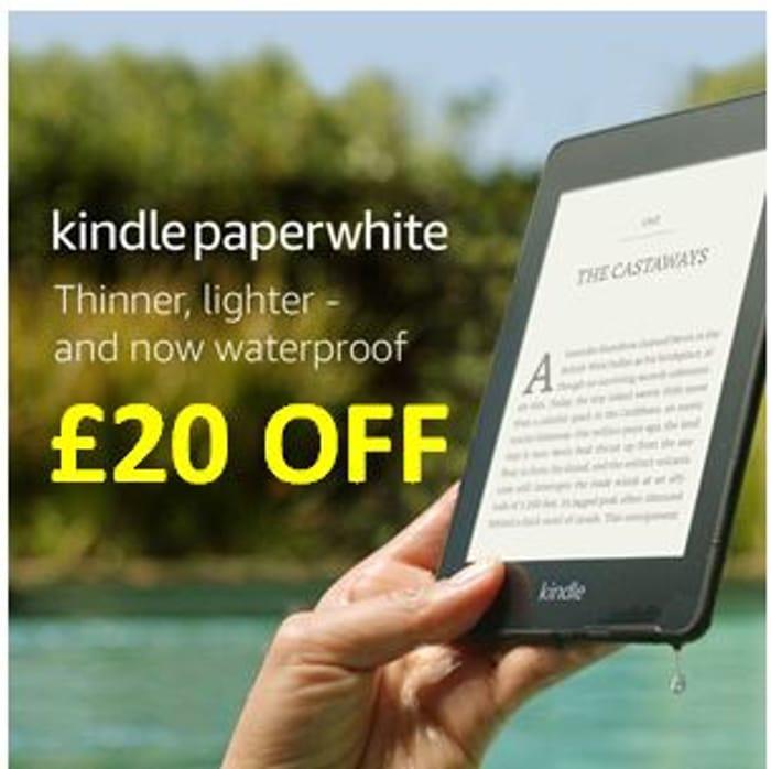 """Kindle Paperwhite   Waterproof, 6"""" High-Resolution Display, 8GB"""