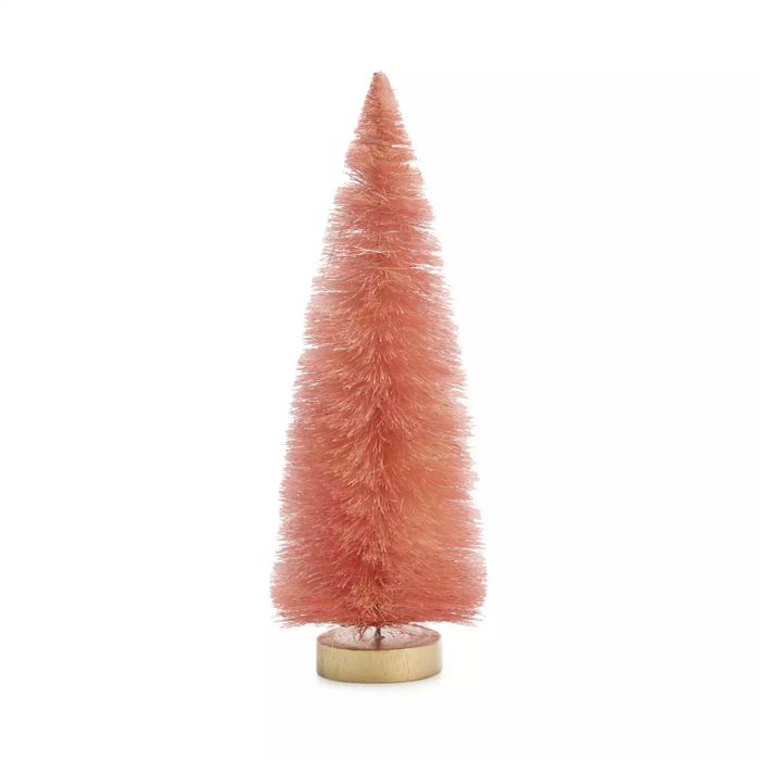 Pink Bristle Christmas Tree with 50% Discount - Great buy!