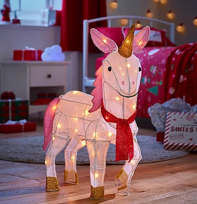 White Unicorn Shaped Christmas Light - 40% OFF!