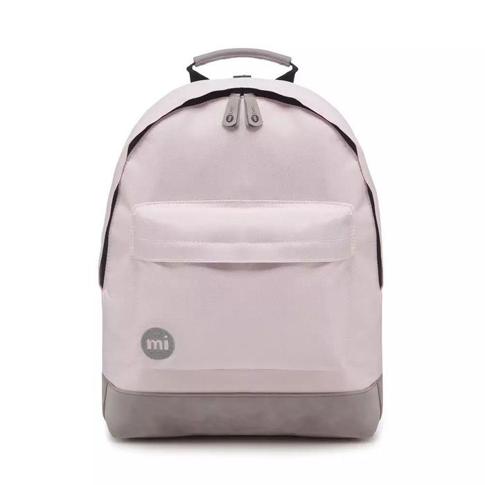 Mi-Pac - Light Pink 'Classic' Backpack Free Delivery Today