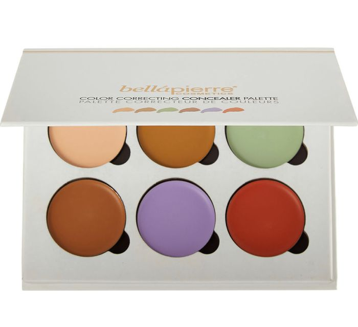 BELLAPIERRE Colour Correction Concealer Palette 24g