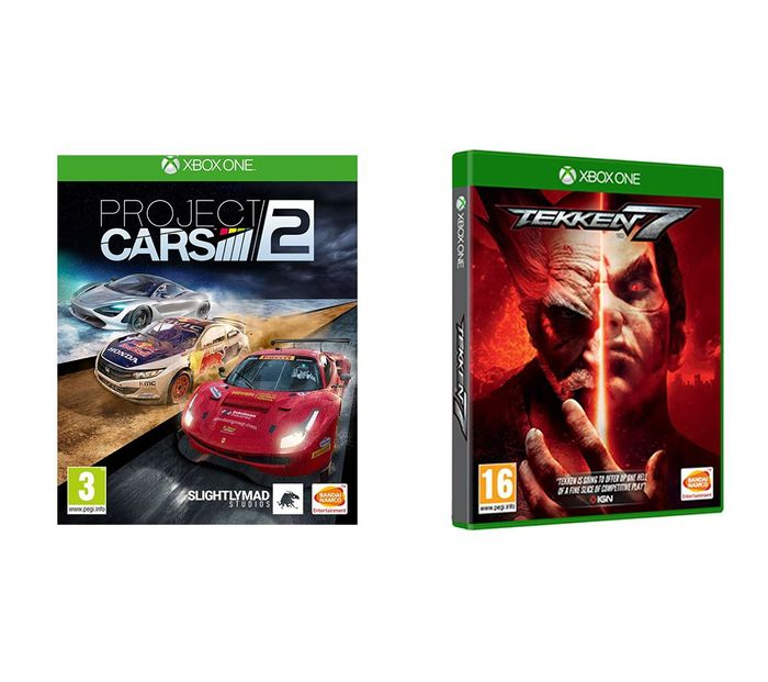It's back!!GLITCH - XBOX ONE Tekken 7 & Project Cars 2 Bundle