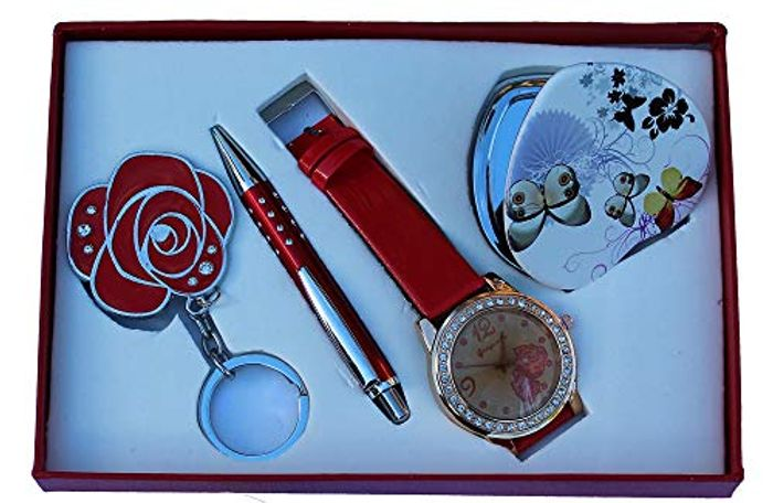 Gift Set with Watch and Mirror - Only £5.99!