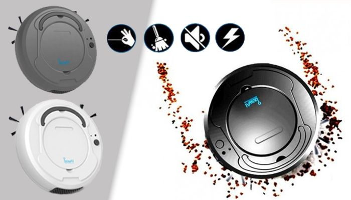 Smart Robot Vacuum Cleaner - 3 Colours